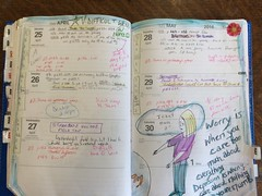 Planner April 25-29 (trishahillery) Tags: family work stress teach lessons