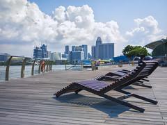 Take a seat (blichb) Tags: travel singapore singapur reise 2014 marinabay travelphotography reisefotografie blichb olympusomdem1 olympuszuiko1240mm128pro