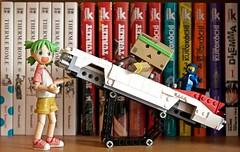 To infinity and beyond...  (Damien Saint-) Tags: toy amazon vinyl yotsuba danbo revoltech danboard