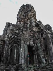 "Angkor: le Bayon <a style=""margin-left:10px; font-size:0.8em;"" href=""http://www.flickr.com/photos/127723101@N04/23670028913/"" target=""_blank"">@flickr</a>"