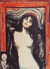 Madonna 1895, Edvard Munch (JANKUIT) Tags: selfportrait schilder museum madonna vincent edvard gogh munch zelfportret vangogh vangoghmuseum verbinding gelijkheid