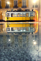 Reflection (Ghoul-Seine) Tags: world voyage city travel blackandwhite white black color portugal landscape lisboa sony journey rx100 ghoulseine ramjanally sonydscrx100