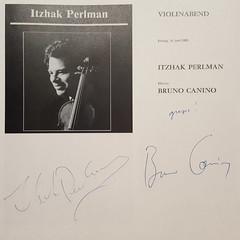 Itzhak Perlman und Bruno Canino