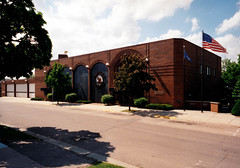 Portage City Offices, Police, Fire, Modern Color Photo