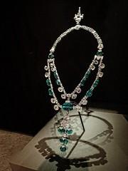 The Inquisition Necklace featuring 15 Colombian emeralds and 336 diamonds (mharrsch) Tags: washingtondc smithsonian necklace jewelry diamond artdeco emerald platinum inquisition museumofnaturalhistory 20thcenturyce mharrsch