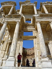 Library of Celsus (M Canzi) Tags: turkey ruins ephesus libraryofcelsus