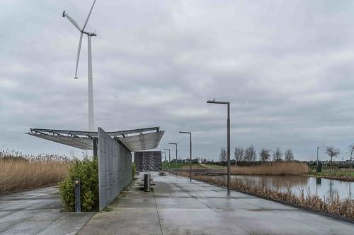 Wind Powered Public Park In Clongriffin Dublin [Father Collins Park]-110962