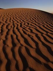 M'hamid - Sunset (huc66) Tags: sunset sand tramonto shadows desert dune ombre marocco deserto sabbia mhamid