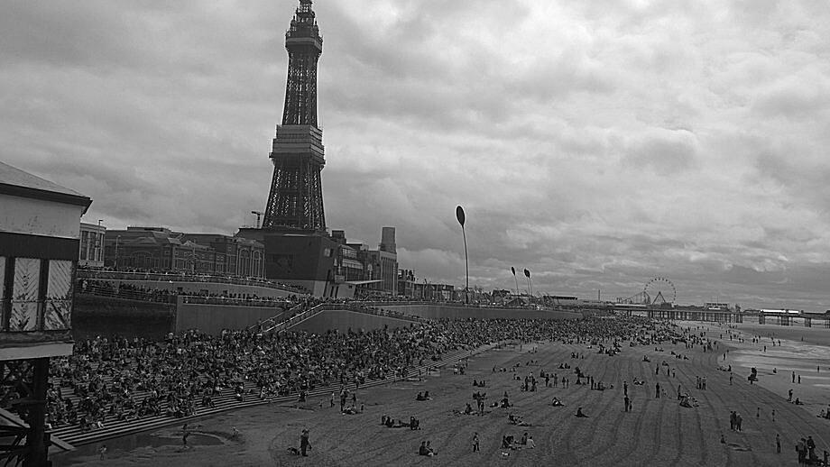 Central beach, Blackpool