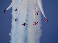 Red Arrows (johnhontai) Tags: airshow southport redarrows panasonicg6 kempophotography hawkert1