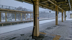 Horomui Station Was Snow (snakecats) Tags: winter snow