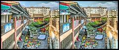 hdr- Jianshui, Yunnan (China) / 1 (Bruno Zaffoni) Tags: china stereophotography 3d yunnan cina stereoscopy stereo3d jianshui stereoscopia
