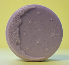 Moon and Stars $4.00 (Clelian Heights) Tags: moon stars lavender soaps scented unscented decorativesoaps cleliansoaps