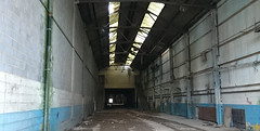 1000 ft Of Open Bay -Ashford Railway Works 2016 (Bournemouth 71B / 70F) Tags: bridge roof brick abandoned station stone facade buildings industrial arch structures bridges arches architectural span timbers disrepair