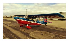 Tailwheel training, Super Decathlon, Shafter, CA