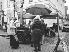 Homemade pea soup (with sausage!) (el.manuelito) Tags: street people olympus elderly manueljrder manueljroeder omdem10markii