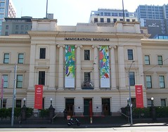 Immigration Museum, Melbourne (Oriolus84) Tags: old city building heritage museum architecture facade australia melbourne victoria historic cbd former flindersstreet oldcustomshouse immigrationmuseum