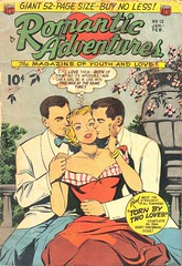 Romantic Adventures 12 (Michael Vance1) Tags: woman man art love comics artist marriage romance lovers dating comicbooks relationships cartoonist anthology silverage