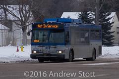 ETS 6006 (awstott) Tags: new bus flyer edmonton system transit orion hybrid ets newflyer edmontontransitsystem orionvii