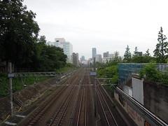 Tracks from above (kevincrumbs) Tags: tokyo shibuya jr   yamanoteline jreast   jr