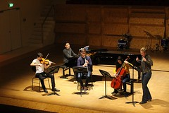 Daniel Leenders, David Ko, Alberto Blanco, Chieko Donker Duyvis & Brechtje van Dijk 7452-5_4841 (Co Broerse) Tags: music amsterdam piano voice violin cello vocals cva clarinet composer 2016 contemporarymusic davidko albertoblanco americancomposer conservatoriumvanamsterdam composedmusic cobroerse dutchcomposer brechtjevandijk chiekodonkerduyvis newmusicarena danielleeenders tweezusters nieuwemuziekarena
