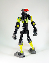 Lesovikk Skeleton - Side (0nuku) Tags: green underwater lego air submarine master vehicle g2 glider bionicle toa 2015 faxon uniter ccbs mahrinui lesovikk karzahni ussanui