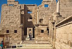 Migdol Gate, Medinet Habu, Egypt (bfryxell) Tags: egypt luxor thebes medinethabu mortuarytempleoframsesiii necropolisofthebes migdolgate