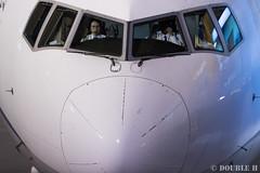 Itami Airport at night 2016.1.31 (6) cockpit at arrival (double-h) Tags: airplane observationdeck itamiairport  itm osakaairport  rjoo   ef300mmf28lisiiusm  lasora eos7dmarkii