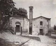 Serravalle Ceno Baptistry (Giorgio Bordin) Tags: paper carta arrowroot baptistry viraggio salted starch toning toner salata ceno serravalle altprocesses thiocyanate tiocianato