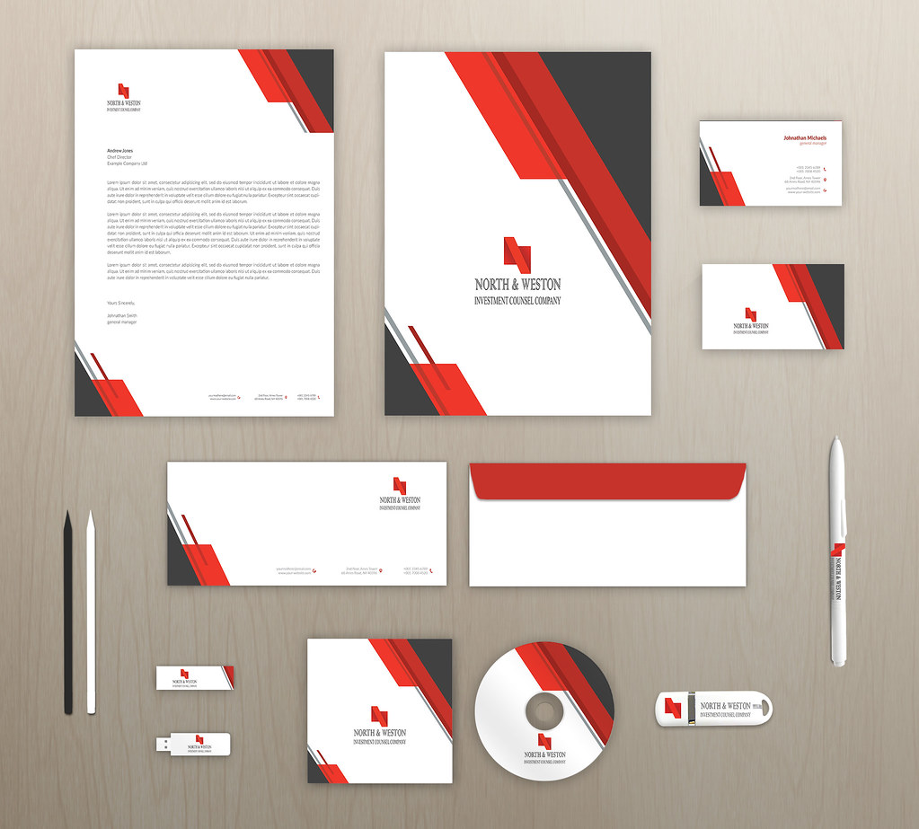 Blue Corporate Stationary Pack By Betty Design: The World's Most Recently Posted Photos Of Blue And