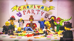 #Lego #carnival #party in da Club! (Umberto Santoro (Usaintgold)) Tags: life carnival party toy still lego minifigures legography