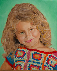 Purity (Boodi Kadi Gallery) Tags: portrait people art colors girl kids painting kid drawing details young indoor canvas most oil popular oi oilpainting viewed purity boodikadigallery