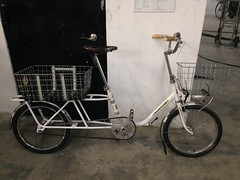 Modified Peugeot demontable bicycle (jimn) Tags: modified longtail peugeot cargobike 1080society