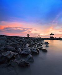 TWB_9677 (xxtreme942) Tags: sunset sea sky bali cloud beach indonesia candidasa