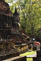 _GRL7605 (TC Yuen) Tags: architecture thailand ruins asia southeastasia buddha unesco worldheritage norththailand ancientcapital