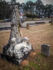 Bubba Statue-002 (RandomConnections) Tags: church cemetery us unitedstates southcarolina ward methodist spannmethodistchurch