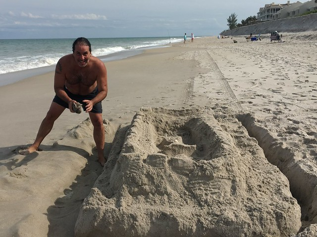 If I am Too Old To Make a Sand Castle on the Beach...