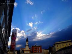 2013 - Blue Sky (Shakar Photography) Tags: sky cloud salzburg clouds austria town sterreich himmel wolke wolken stadt oesterreich