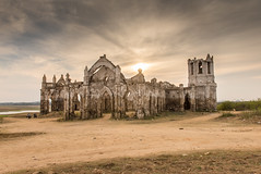 The Old Dilapidated Rosary Church At Shettihalli