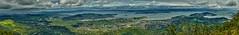 San Anselmo Hills to San Francisco Pan (aussiearn) Tags: sanfrancisco panorama bay mac francisco imac an baybridge area bayarea sanfranciscobay richmondbridge mttamalpais d300 captureonepro mttamalpaisstatepark 5kimac