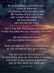 Bernie Tuffs - Lent 2016 - Day 24 - 4th March (Bernie Tuffs - Digital Artist) Tags: man faith christian suffering sorrows lent2016