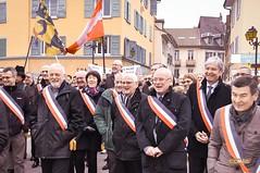 2016 Rassemblement1 (Damien Comte) Tags: de mayor pont savoie manifestation maire isère rassemblement guiers beauvoisin