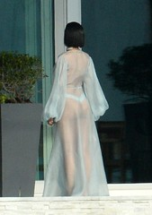 Rihanna (bashmatic) Tags: usa florida candid thong miamibeach anti exclusive musicvideo sheer nipplepiercing braless rihanna