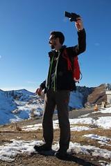 Selfie Arosa style (minimi007) Tags: mountains spring day wandern arosa schwitzerland