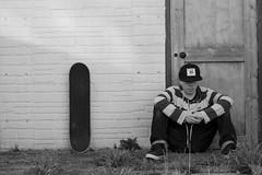A Stare Like You (Swebbatron) Tags: blackandwhite selfportrait canon 50mm mono moody exeter skateboard vans selfie radlab imnomodel gettotallyrad