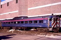 MBTA RDC-1 75 SoSta 5-14-1988 (ironmike9) Tags: railroad station train rail railway rr transit budd commuter passenger commuterrail rdc