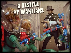 A Fistful of Martians (MiskatonicNick) Tags: cowboy good 16 diorama clinteastwood marsattacks hottoys sixthscale playscale redmantoys