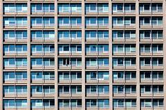 Four (Rosetta Bonatti (RosLol)) Tags: windows italy milan lines architecture facade italia pattern milano repetition architettura finestre linee melchiorregioia roslol