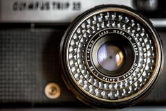 78/366 2016 - Inheritance (fishyfish_arcade) Tags: camera macro lens nikon olympustrip35 inheritance olympustrip d3200 macromondays sigma105mmf28exdgoshsmmacro