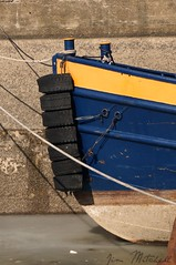 """""""Take a Bow"""" (canaltowntraveler) Tags: newyork boat tie rope bumper bow tug eriecanal jimmitchell canaltowntraveler picmonkey"""